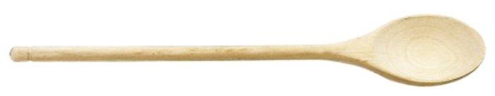 Ложка поварская Tescoma Woody 637316 деревянная овальная, 35 см