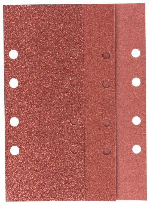 BOSCH Набор шлифовальных листов 93х230мм Р60/120/180 - 10 шт