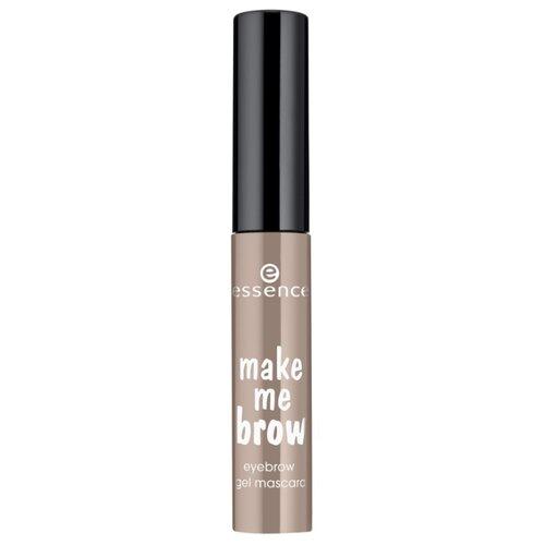Essence Тушь-гель для бровей make me brow gel mascara 01, blondy brows essence пудра для бровей make me brow 1 гр 2 цвета 02 для блондинок
