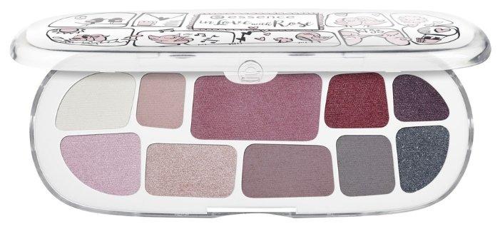 Essence Тени для век In love with rose Eyeshadow box