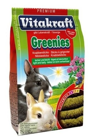 Лакомство для кроликов, грызунов Vitakraft Greenies