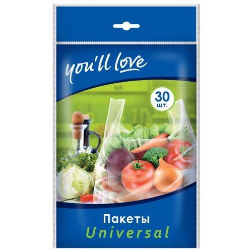 Пакеты для хранения продуктов you'll love Universal, 46 см х 21 см, 30 шт