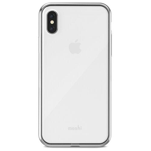 Чехол Moshi Vitros для Apple iPhone X jet silver  - купить со скидкой
