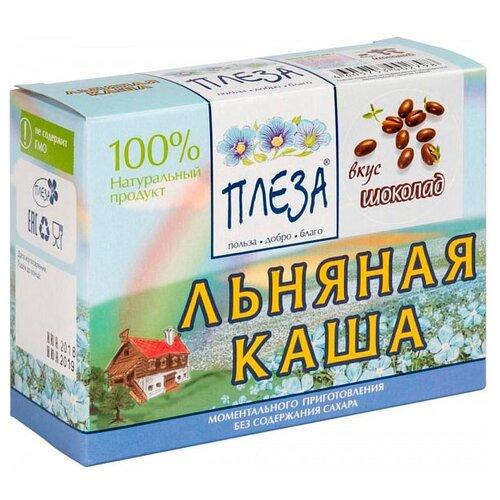 Фото - ПЛЕЗА Каша льняная вкус Шоколад (коробка), 200 г беби ситтер каша ячменная с 4 месяцев 200 г