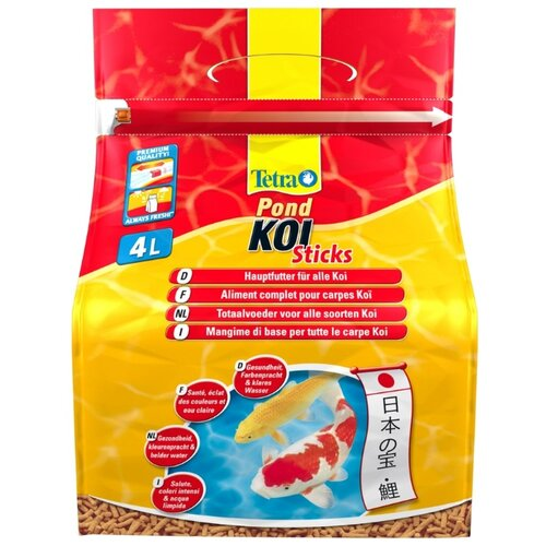 Сухой корм для рыб Tetra Pond Koi Sticks 4000 мл сухой корм для рыб tetra pond koi sticks 15000 мл