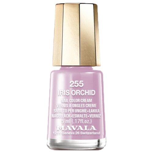 Лак Mavala Nail Color Cream, 5 мл, оттенок 255 Iris Orchid mavala nail color