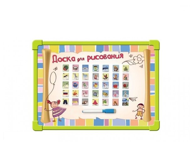 Доска для рисования детская TONG DE 6114-CR
