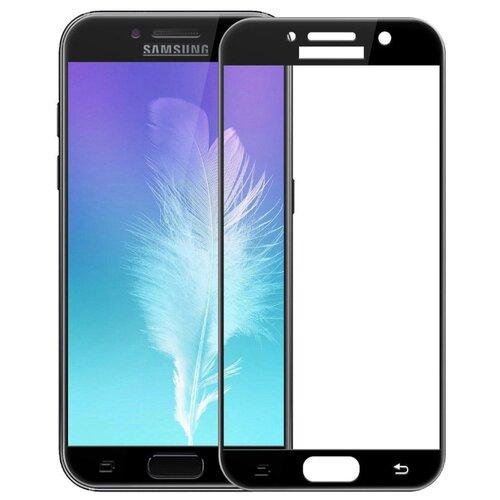 Защитное стекло UVOO Full Screen для Samsung Galaxy A7 (2017) черный