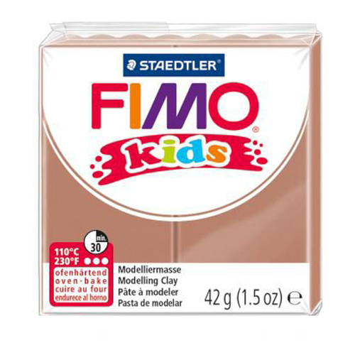 Полимерная глина FIMO kids 42 г светло-коричневый (8030-71)