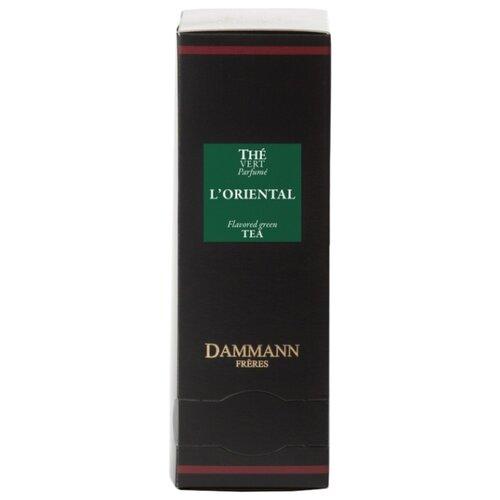 Чай зеленый Dammann Frères L'Oriental в пакетиках , 24 шт. фото
