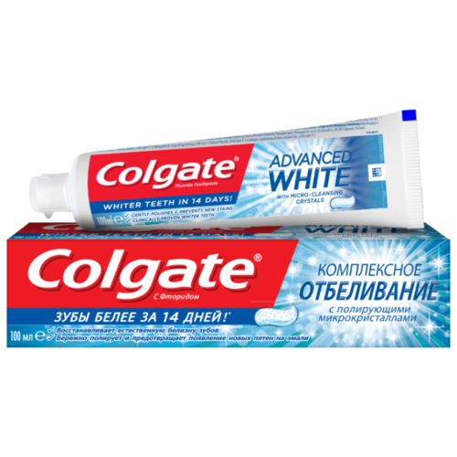 Купить Зубная паста Colgate Комплексное отбеливание, 100 мл