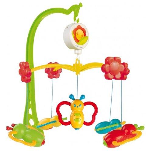Механический мобиль Canpol Babies Бабочки (75/003) зеленый/красный/желтыйМобили<br>