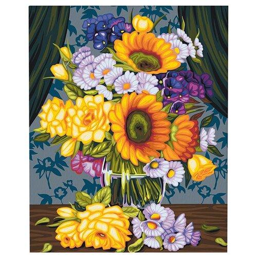 Купить Мосфа Картина по номерам Сентябрьский букет 40х50 см (7С-0278), Картины по номерам и контурам