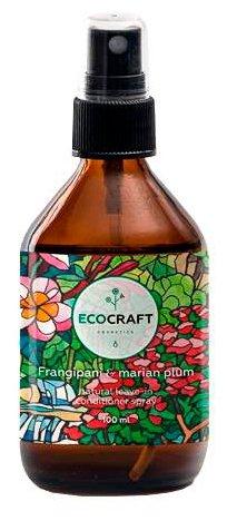 EcoCraft несмываемый спрей кондиционер для волос Frangipani