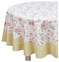 Скатерть Fresca Design English rose с оборкой (sks04.1) 185 см