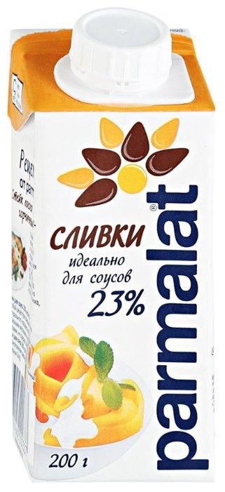 Сливки Parmalat ультрастерилизованные 23%, 200 г