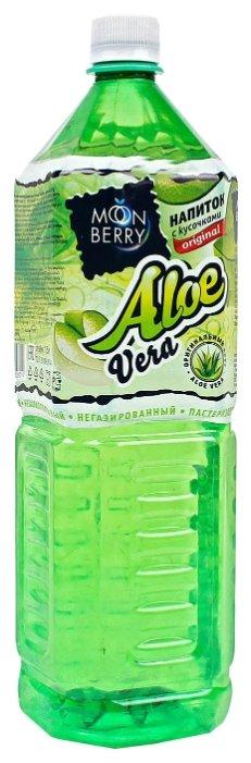 Напиток сокосодержащий MoonBerry Aloe Vera с кусочками алоэ