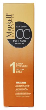 """Markell HAIR EXPERT CC CC-эмульсия """"Экстра-сила"""" для волос и кожи головы"""