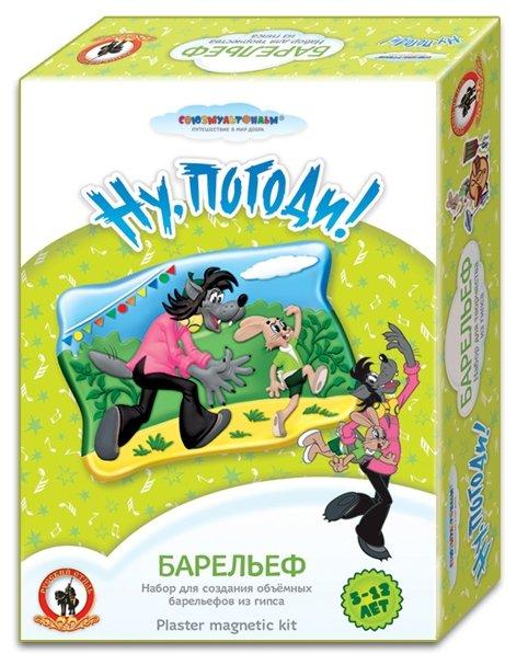 Русский стиль Барельеф Союзмультфильм - Ну, погоди! (03819)