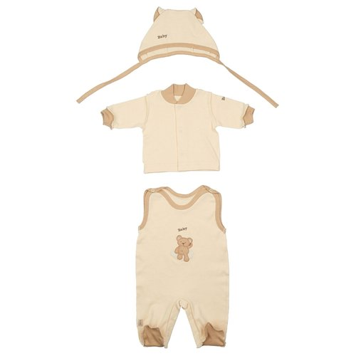 Комплект одежды LEO размер 62, кремовый/бежевыйКомплекты<br>