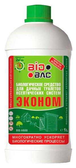 BioBac Биологическое средство для дачных туалетов и септических систем BB-V600 1 л