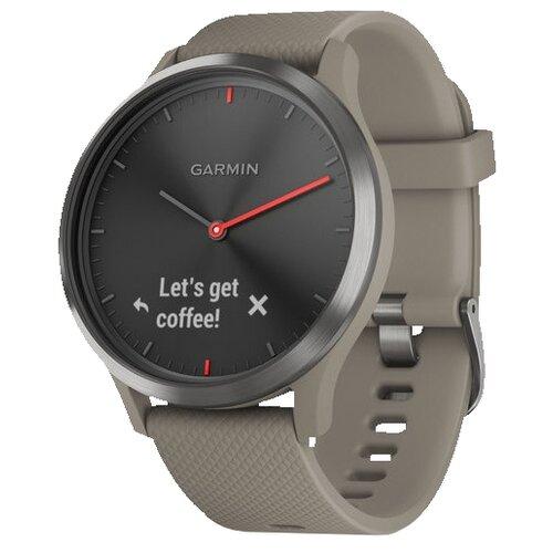 цена Часы Garmin Vivomove HR Sport песочный онлайн в 2017 году