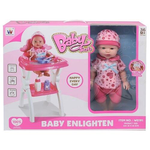 Фото - Интерактивный пупс Wanderlong Baby Seat, 700109, 38 см интерактивный пупс baby doll