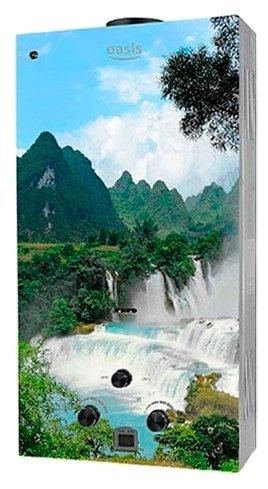Проточный газовый водонагреватель Oasis Glass 20VG