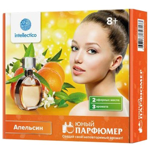 Intellectico Юный парфюмер. Набор мини Апельсин (717)