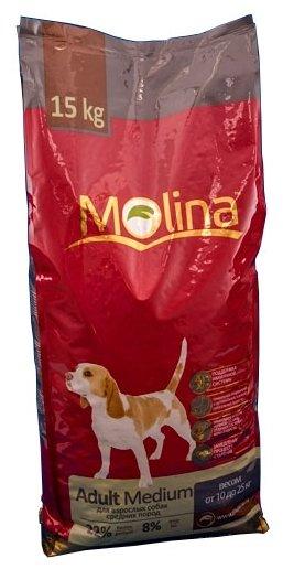 Корм для собак Molina Adult Medium