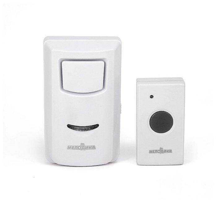 Звонок с кнопкой Мелодика С201 электронный проводной (количество мелодий: 3)
