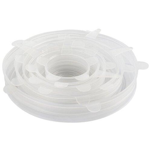 Набор крышек FidgetGo силиконовая 6 шт прозрачный
