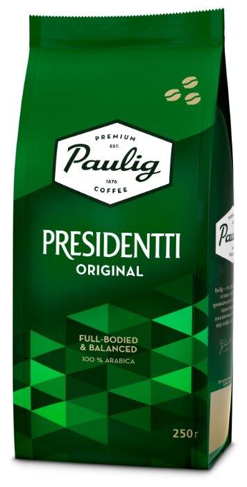 Кофе в зернах Paulig Presidentti Original