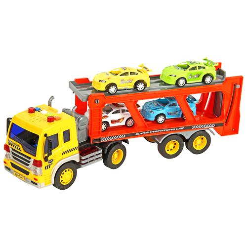 Фото - Автовоз DRIFT 54650 1:16 желтый/красный радиоуправляемая машина zegan crazy drift 1 16 красный zg c1432 red