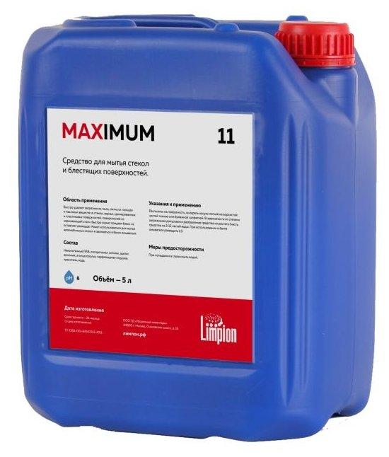 МAXimum 11 триггер (0,5 л.) Мойка окон Limpion