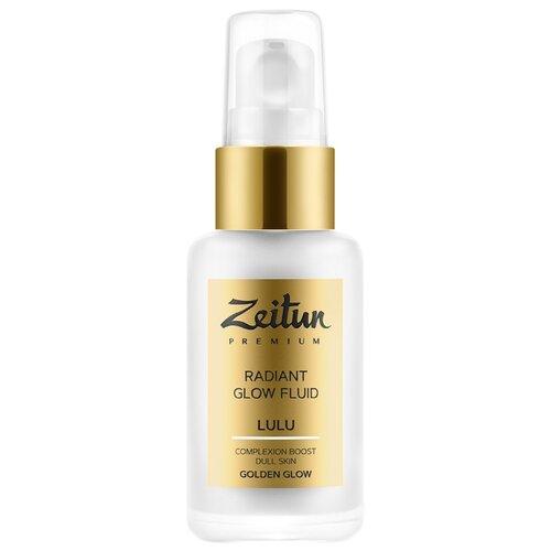 Zeitun Premium LULU Radiant Glow Fluid Golden Glow Дневной флюид-сияние для лица 50 млУвлажнение и питание<br>