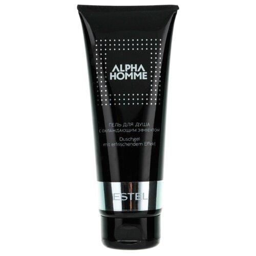 Гель для душа ESTEL Alpha homme, 250 мл гель крем для лица alpha homme genwood hydro 50мл
