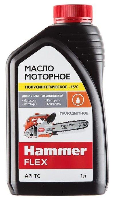 Масло для садовой техники Hammerflex 501-004 1 л