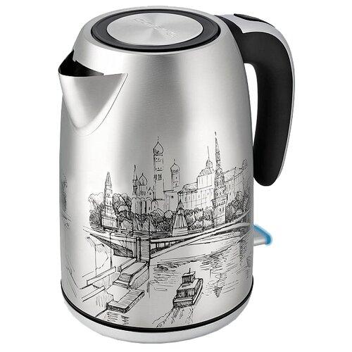 Чайник Polaris PWK 1856CA, серебристый фото
