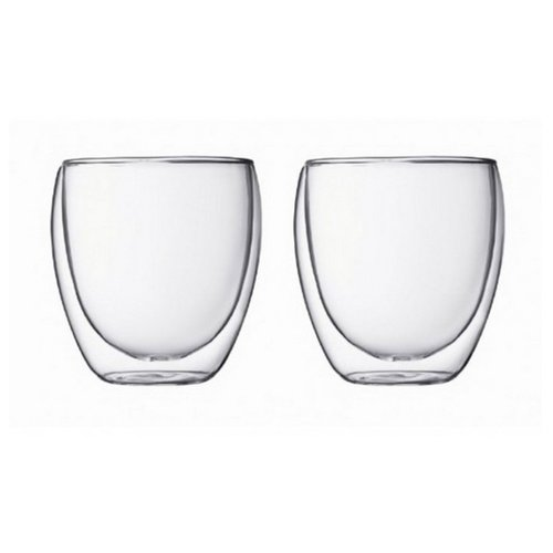 Bodum Набор бокалов Pavina 0,25 л 2 шт прозрачный