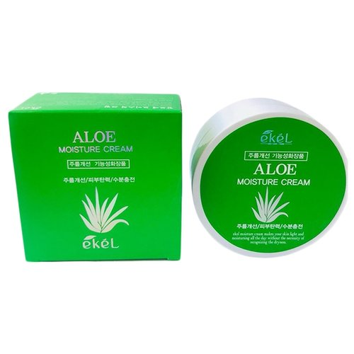 Купить Ekel Moisture Cream Aloe Увлажняющий крем для лица с экстрактом алоэ, 100 г