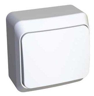 Выключатель 1-полюсный Schneider Electric ЭТЮД BA10-001B, 10А , белый