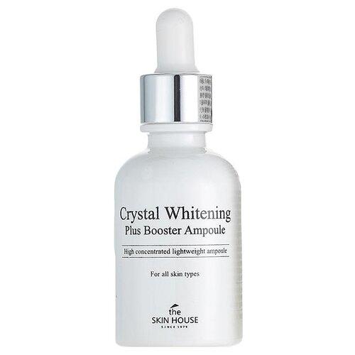 The Skin House Crystal Whitening Plus Booster Ampoule Концентрированная ампульная сыворотка для лица, 30 мл сыворотка осветляющая с фильтратом дрожжей whitening ampoule 30 мл the saem galactomyces