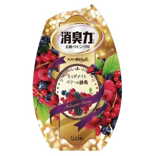 Shoshu-Riki дезодорант–ароматизатор для комнат c ароматом сладких ягод 400 мл