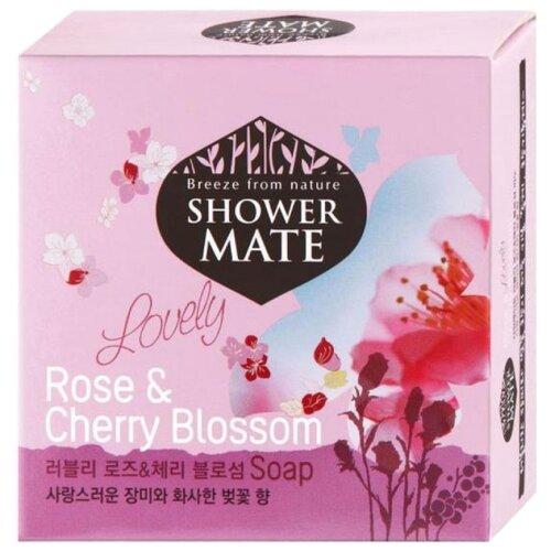 Мыло кусковое Shower Mate Rose & Cherry Blossom 100 гМыло<br>