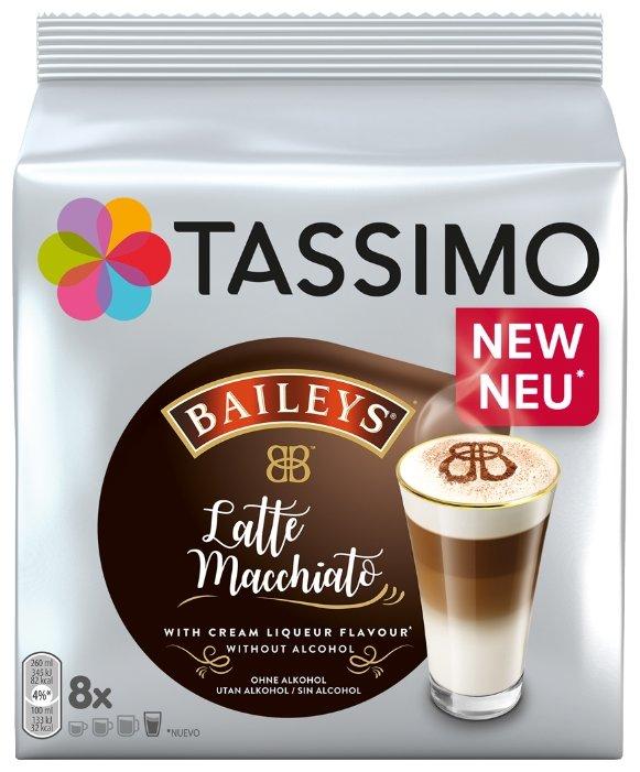 Кофе в капсулах Baileys Latte Macchiato (8 шт.)