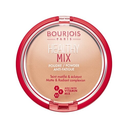 Bourjois Healthy Mix пудра компактная Powder 03 Dark beige bb крем bourjois healthy mix bb cream anti fatigue 03 цвет 03 dark fonce variant hex name be8866