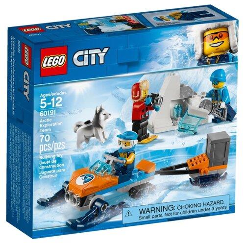 Конструктор LEGO City 60191 Полярные исследователи конструктор city lego lego mp002xb00c9t