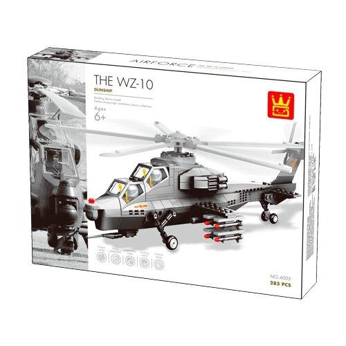 Купить Конструктор Wange Airforce 4002 Вертолет WZ10, Конструкторы