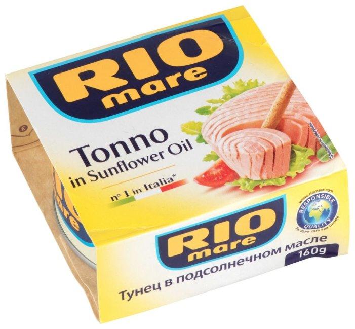 Rio Mare Тунец в подсолнечном масле, 160 г